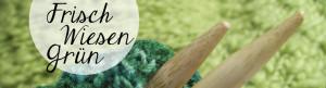 FrischWiesenGrün - grüne Wolle