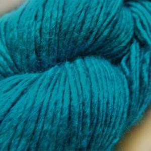 © Die Maschen zum Glück | Wolle-Seidengarn Meergrün