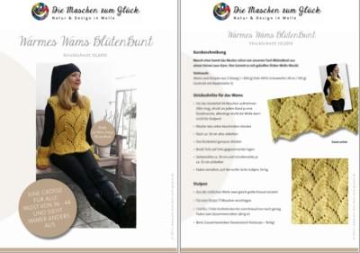 © die-maschen-um-glueck.de Strickanleitung Gelbes Wams