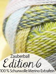 © Die Maschen zum Glück Schoppel Wolle Zauberball Edition 6