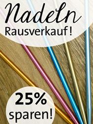 © Die Maschen zum Glück | Stricknadel Sonderverkauf