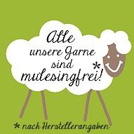 © Die Maschen zum Glück Unser Wolle ist mulesingfrei