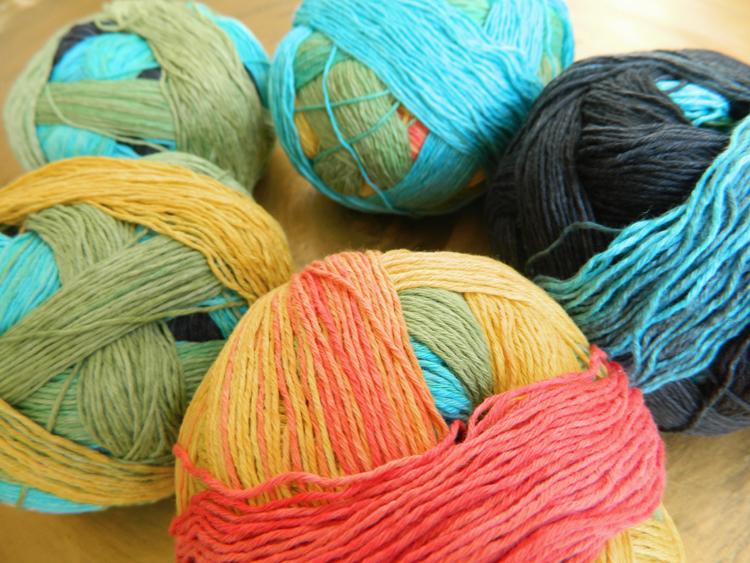 © Die Maschen zum Glück | Zauberball Cotton von Schoppel Wolle | Bio Baumwolle