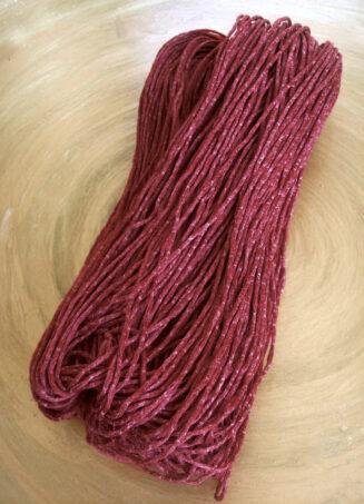 © Die Maschen zum Glück | IN Silk Weinrot von Schoppel Wolle