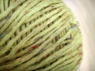 © Die Maschen zum Glück | Reggae Tweed Grün von Schoppel Wolle