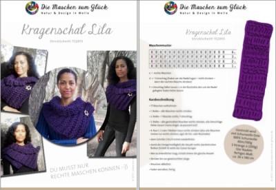 © die-maschen-um-glueck.de Strickanleitung dicker Schal