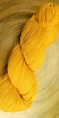 © die Maschen zum Glück | Baumwolle Handarbeitsgarn in Gelb