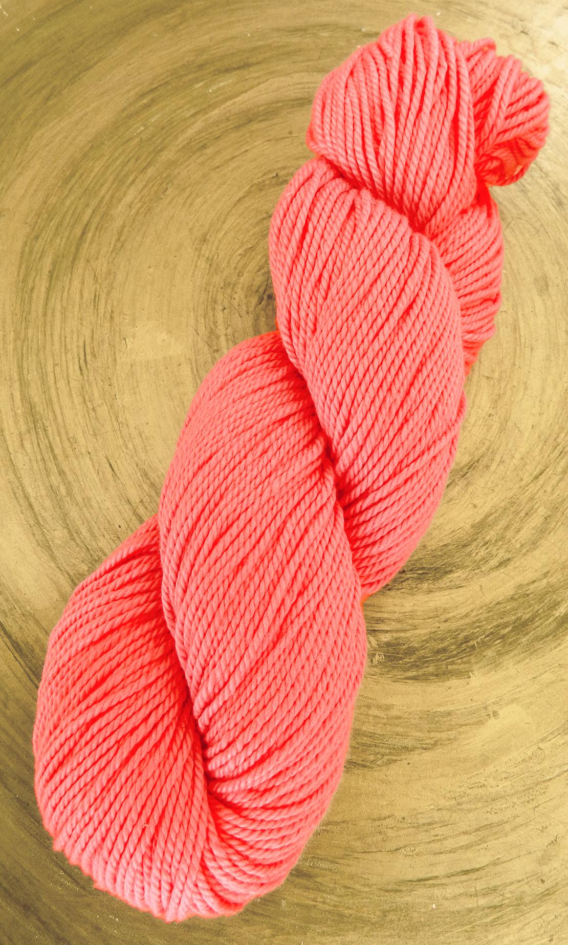 Baumwollgarn Lachs - zum Häkeln und Stricken - auch für Anfänger