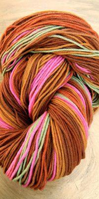 © die Maschen zum Glück | Unisono Grün-Pink-Schlamm