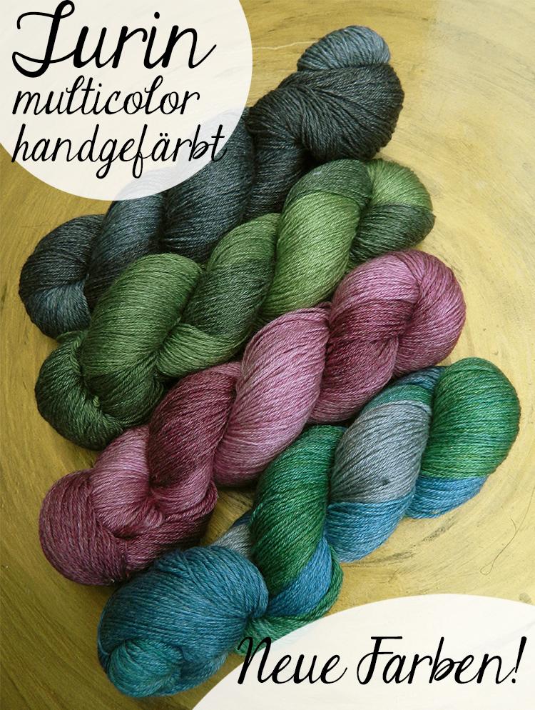 © Die Maschen zum Glück | Turin Sockenwolle multicolor handgefärbt