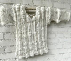 © Die Maschen zum Glück dreierlei Rauh Pullover