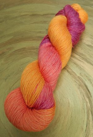 © Die Maschen zum Glück | Turin Multicolor Orange von Seehawer & Siebert