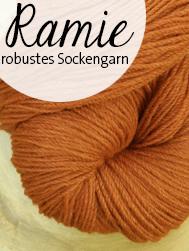 Die Maschen zum Glück | Ramie | robustes Sockengarn mit Schurwolle und Ramie | Seehawer & Siebert
