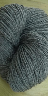 © Die Maschen zum Glück | Ramie Sockenwolle grau von Seehawer & Siebert