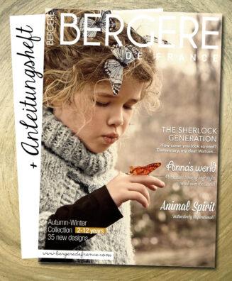 © Die Maschen zum Glück | Bergere de France Heft Herbst Winter 2-12 Jahre