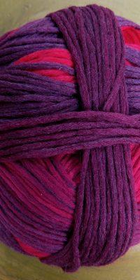 © Die Maschen zum Glück | Gradient Indisch Rosa von Schoppel Wolle