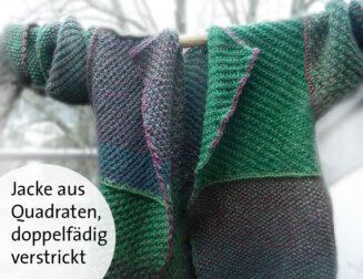 © Die Maschen zum Glück | Strickjacke Zauberwolle