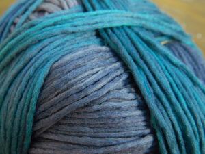 © Die Maschen zum Glück | Gradient Fankurve von Schoppel Wolle