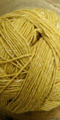 | Alb Lino Senfgelb von Schoppel Wolle © Die Maschen zum Glück