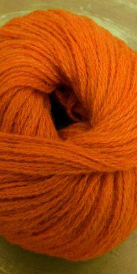© Die Maschen zum Glück | Streichelwolle Gebranntes Orange von Schoppel Wolle
