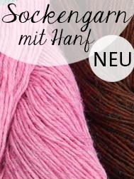 © Die Maschen zum Glück | Hanfgarn von Atelier Zitron | Strickwolle mit Hanf