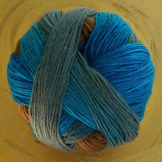 © Die Maschen zum Glück | Zauberball 100 Zone Aquatique von Schoppel Wolle