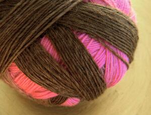© Die Maschen zum Glück | Zauberball 100 Rosa Träume von Schoppel Wolle