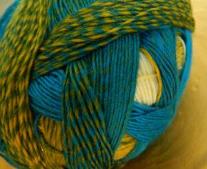 © Die Maschen zum Glück | Zauberball 100 Blaue Lagune von Schoppel Wolle