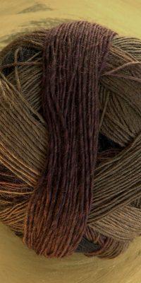 © Die Maschen zum Glück | Zauberball 100 Schlichte Fichte von Schoppel Wolle