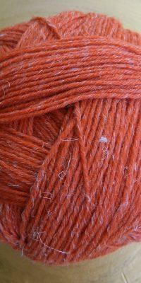 © Die Maschen zum Glück | Alb Lino Papaya von Schoppel Wolle