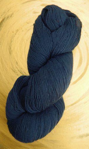 © Die Maschen zum Glück | Lacegarn Filigran Blau Atelier Zitron