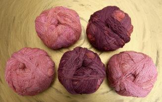 © Die Maschen zum Glück | Zauberball Cotton, Altes Rom, Bio Baumwolle aus Griechenland
