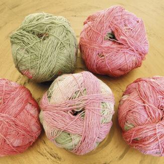 © Die Maschen zum Glück | Zauberball Cotton, Rosige Zeiten, Bio Baumwolle aus Griechenland