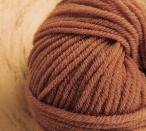 © Die Maschen zum Glück | Ursprung Karamell, 100% tasmanische Merino extrafein