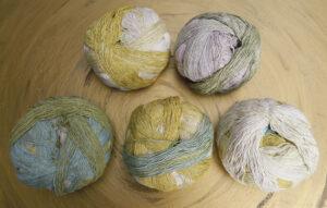 © Die Maschen zum Glück | Zauberball Cotton Junges Gemüse von Schoppel Wolle, zertifizierte Bio Baumwolle aus Griechenland