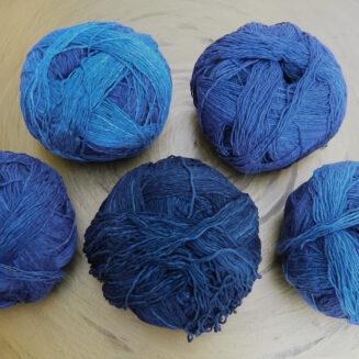Zauberball Cotton Arbeiterklasse| Schoppel Wolle | Baumwolle aus nachhaltigem Anbau Griechenland | © Die Maschen zum Glück