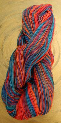 © Die Maschen zum Glück | Unisono Color Feuerland | 100% Merino extrafein | Atelier Zitron