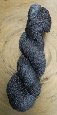© Die Maschen zum Glück | Turin Sockenwolle multicolor handgefärbt | Graphit