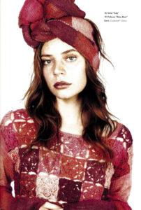Anleitung für Pullover und Schal aus Zauberball Cotton in Knit the Cat 09