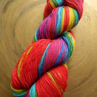 © Die Maschen zum Glück | Filigran Lace Rainbow | Atelier Zitron