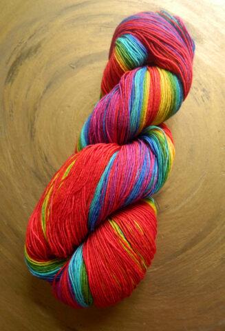 © Die Maschen zum Glück   Filigran Lace Rainbow   Atelier Zitron