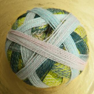 Zauberball Edition 6 Schoppel Wolle, 100% Merino extrafein Taupunkt