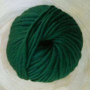 © Die Maschen zum Glück   Dochtwolle Oslo Tannengrün von Seehawer Naturfasern, dickes XL Schnellstrickgarn