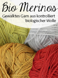 © Die Maschen zum Glück | BIO Merinos von Schoppel Wolle | kontrolliert biologische Merino Wolle aus Patagonien mit französischem Leinen