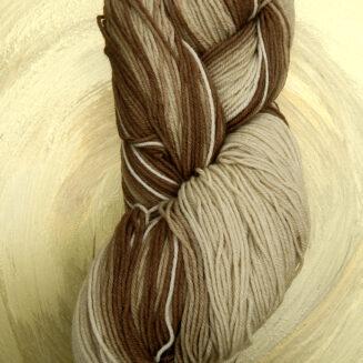 © Die Maschen zum Glück | Infinito Sand von Atelier Zitron | perfekter Farbverlauf