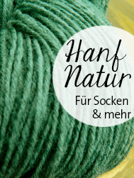 © Die Maschen zum Glück | Hanf bicolor von Atelier Zitron