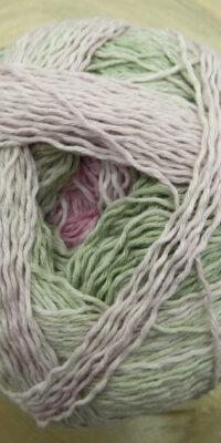 © Die Maschen zum Glück | Zauberball Cotton Rosige Zeiten neuer Verlauf