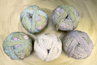 Zauberball Cotton Junges Gemüse | Schoppel Wolle | Baumwolle aus nachhaltigem Anbau Griechenland | © Die Maschen zum Glück