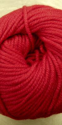 © Die Maschen zum Glück | Ursprung Kirschrot | Tasmanische Merinowolle extrafein | Atelier Zitron