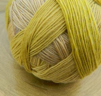 Zauberball 100 Licht im Schacht | Schoppel Wolle | Schurwolle Merino, lange Farbverläufe | © Die Maschen zum Glück